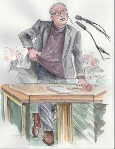 Dominique Lemarié, dessinatrice de presse judiciaire – La Baule