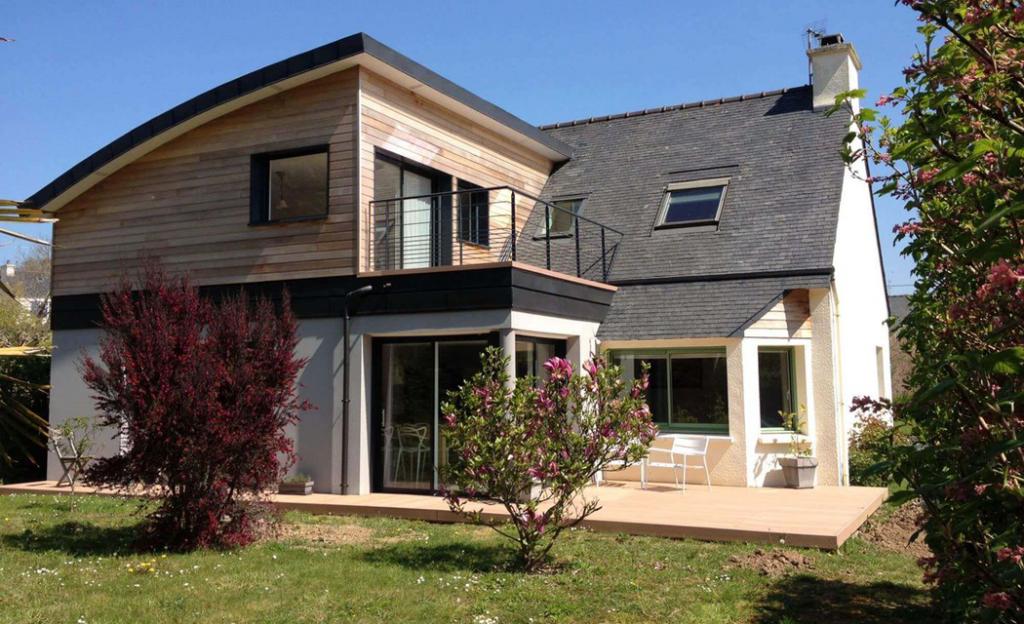 Surélévation maison La Baule Guérande Pornichet Saint Nazaire
